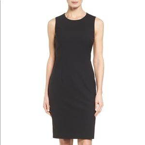 BOSS Hugo Boss Dirusa Tropical Stretch Wool Dress